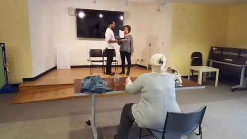 The Kiss Rehearsal