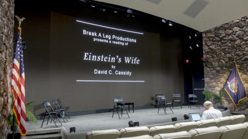 Einstein's Wife at IBM Headquarters